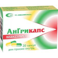 Angricaps maxima 20 capsules