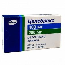 Celebrex (Celecoxib) 400mg 1 capsule + 200mg 5 capsules