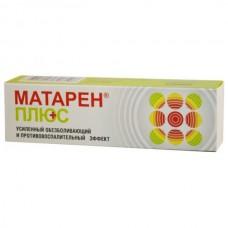 Mataren plus (Meloxicamum + Tinctura Capsici) 30g cream