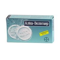 Alka-Seltzer 10 effervescent tablets