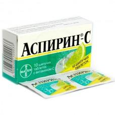 Aspirin-С (Acetylsalicylic acid + Ascorbic acid) 10 effervescent tablets