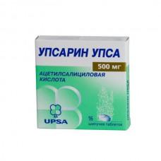 Upsarin UPSA (Acetylsalicylic acid) 500mg 16 effervescent tablets