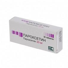 Paroxetine 20mg 30 tablets