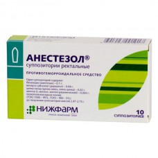 Anaesthesol 10 suppositories