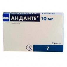 Andante (Zaleplon) 10mg 7 capsules