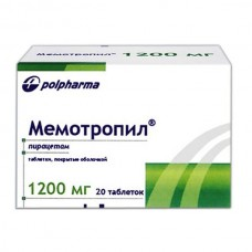 Memotropil (Piracetam) 1200mg 20 tablets
