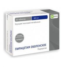 Piracetam 800mg 30 tablets