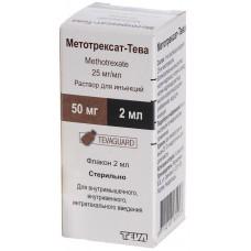 Methotrexate Teva 25mg/ml 2ml