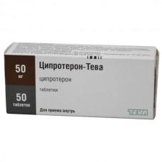 Cyproterone Teva 50mg 50 tablets