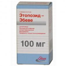 Etoposid-Ebewe (Etoposide) 20mg/ml 5ml