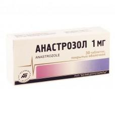 Anastrozole 1mg 30 tablets