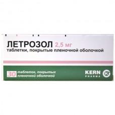Letrozole 2.5mg 30 tablets