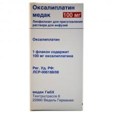 Oxaliplatin medac lyophilizate 100mg