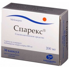 Sparex (Mebeverine)