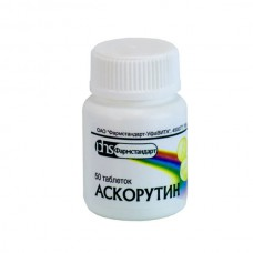 Ascorutin (Ascorbic acid + Rutoside) 50 tablets