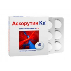 Ascorutin-Ka 18 tablets for resorption
