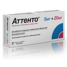 Attento (Amlodipine+Olmasartan medoxomil)