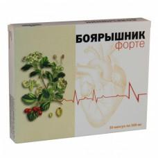 Boyaryshnik (Crataegi fructus) Forte 300mg 30 capsules