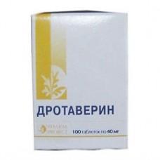 Drotaverine 40mg 100 tablets