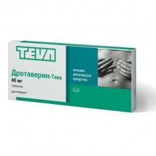 Drotaverine Teva 40mg 40 tablets