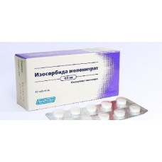 Isosorbide mononitrate 20mg 30 tablets