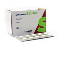 Dicynone (etamsylate) 250mg 100 tablets