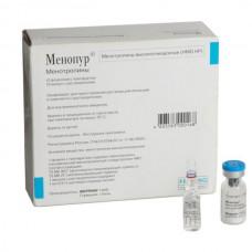 Menopur (Menotropina) 75IU 10 vials