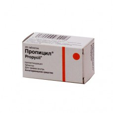 Propicil (Propylthiouracil) 50mg 20 tablets