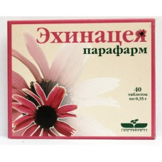 Echinacea parafarma 350mg 40 tablets