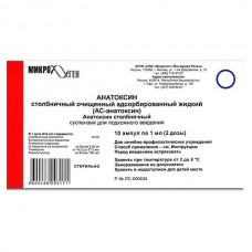 Anatoxin tetanus AC 1ml 10 vials