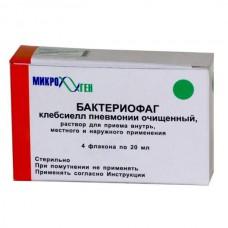 Bacteriophag Klebsiellae pneumoniae 20ml 4 vials