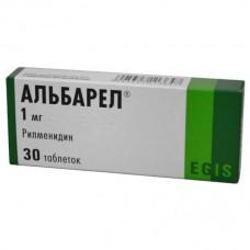Albarel (Rilmenidin) 1mg 30 tablets
