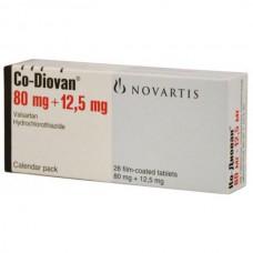 Co-Diovan (Valsartan + Hydrochlorothiazide)