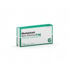 Montelukast 5mg 28 chewable tablets