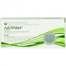 Latran (Ondansetron) 4mg 10 tablets