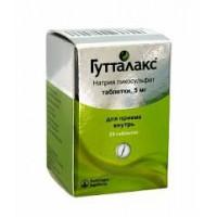 Guttalax (Natrii picosulfas) tablets