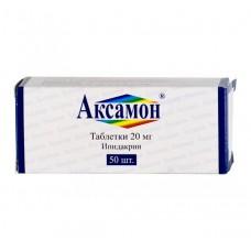 Axamon (Ipidacrin) 20mg 50 tablets