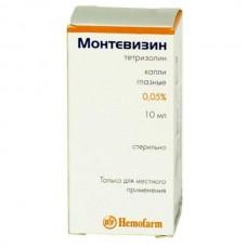 Montevizin (Tetryzoline) 0.05% 10ml eye drops