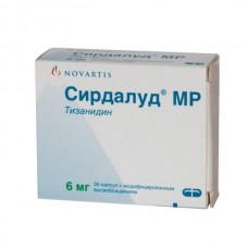 Sirdalud MR (Tizanidine) 6mg 30 capsules