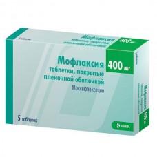 Moflaxia (Moxifloxacin)