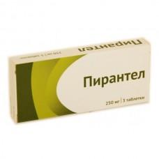 Pyrantel 250mg 3 tablets