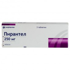 Pyrantel 250mg 3 tablets