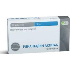 Rimantadine Actitab 50mg 20 tablets