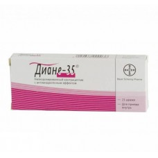 Diane 35 (Ethinylestradiol Cyproterone) 21 dragee