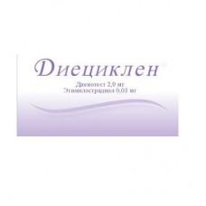 Dieciklen (Dienogest Ethinylestradiol)