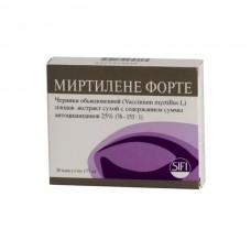 Mirtilene forte 177mg 20 capsules