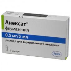 Anexate (Flumazenil) 0.1mg/ml 5ml 5 vials