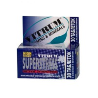 Vitrum Superstress (Multivitamins + Multimineral) 30 tablets chewable