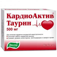 CardioActive Taurine 500mg 60 tablets