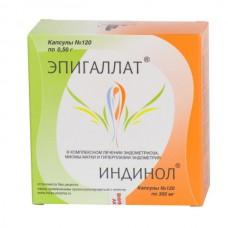 Indinol 120 capsules + Epigallat 120 capsules